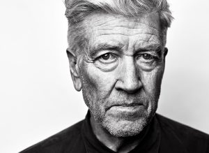 Close up portrait of David Lynch